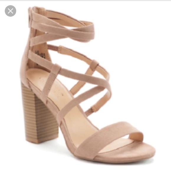 LC Lauren Conrad Grey Heels   Grey heels, Lauren conrad